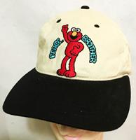 fiftiesstore Sesamstraat Elmo Peace Brother Oldskool Cap - Pet