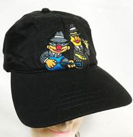 fiftiesstore Sesamstraat Bert And Ernie Blues Brothers Oldskool Cap - Pet