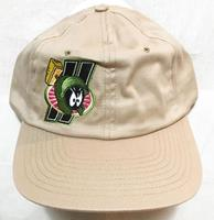 fiftiesstore Looney Tunes Marvin The Martian UPS Cap Pet Beige