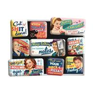 fiftiesstore Magneet Set Office Fun
