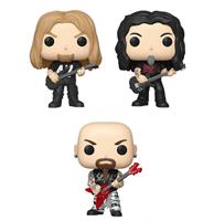 fiftiesstore Funko Pop! Rocks - Slayer Complete Set Van 3 Jeff 155 Tom 156 Kerry 157 Figuren