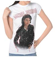 fiftiesstore Michael Jackson Bad Dames Shirt
