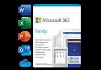 microsoftsoftware Microsoft 365 Family - Jaarabonnement - 6 Gebruikers