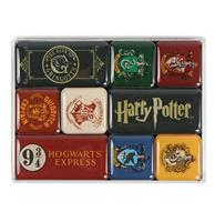 fiftiesstore Harry Potter: Houses Set van 9 Magneten