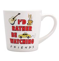 fiftiesstore Friends: Rather Be Watching Friends Beker