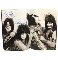 fiftiesstore Kiss 40 Years Tour Book 2014 - GESIGNEERD