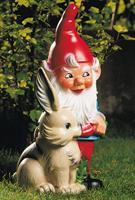 Westfalia Tuinkabouter met konijntje 30 cm