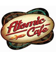 fiftiesstore Atomic Cafe Retro Zwaar Metalen Bord 73 x 50 cm