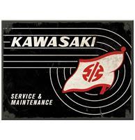 fiftiesstore Kawasaki Service & Maintenance Magneet