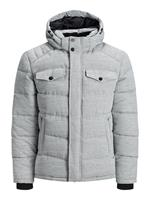 Jack & jones Hooded Puffer Jacket Heren Grijs