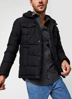 Jack & jones Hooded Puffer Jacket Heren Zwart