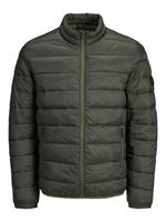 Jack & jones Rits Gewatteerde Jas Heren Green