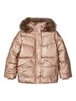 NAME IT Quilted Puffer Jacket Dames Goud