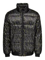 Only & Sons Short Puffer Jacket Heren Green
