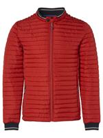 No Excess Jacket, short fit, dull nylon, fake cayenne
