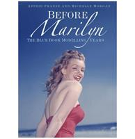 fiftiesstore Before Marilyn: The Blue Book Modelling Years Marilyn Monroe Softcover Boek - Astrid Franse en Michelle Morgan
