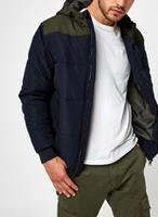 only&sons Only & Sons gewatteerd jack met capuchon in navy-Marineblauw