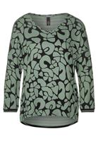 Street One Shirt met gemixte prints