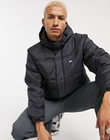 obey Fellowship - Puffer jack in zwart