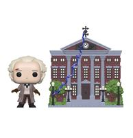 fiftiesstore Pop! Town: Back to the Future - Doc with Clock Tower