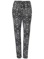 LINEA TESINI by heine Gedessineerde broek