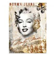fiftiesstore Marilyn Monroe Portrait Collage Magneet
