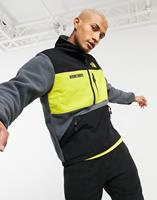 thenorthface The North Face - Steep Tech - Fleece jack met halve rits in grijs