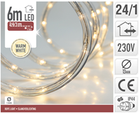 Kerst Slangverlichting Led 6m Warm Wit