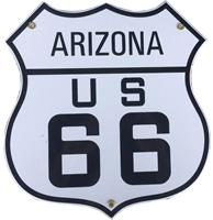 fiftiesstore Route 66 Arizona Emaille Bord