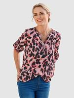 Dress In Blouse  Roze