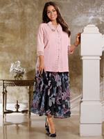 M. collection Blouse  Roze