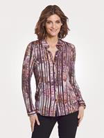 Mona Blouse  Berry::Paars