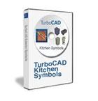 TurboCAD 3D Kitchen Symbols Pack, English