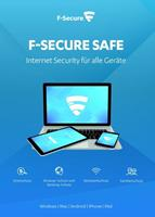 f-secure Safe Internet Security 2020, download, volledige versie 1 Apparaat 2 Jaar