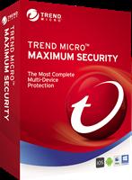 trendmicro Trend Micro Maximale beveiliging 2020 Multi Device, MAC Windows, Android, IOS 5 Apparaten 2 Jaar