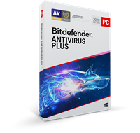 bitdefender Antivirus Plus 2020, 3 jaar volledige versie 3 Apparaten