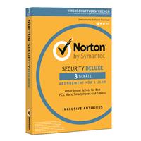 symantec Norton Security Deluxe 3.0, [2019 editie]. 3 Apparaten 3 Jaar