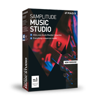 magix Samplitude Music Studio 2019, volledige versie [Download] BOX (DVD)