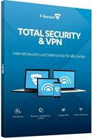 f-secure Total Security & VPN 2020, download, volledige versie 5 Apparaten 2 Jaar
