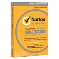 symantec Norton Security Premium 3.0, 10 apparaten, volledige versie, [editie 2020]. 3 Jaar