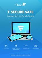 f-secure Safe Internet Security 2020, download, volledige versie 7 apparaten 2 Jaar