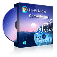 dvdfab Hi-Fi Audio Converter Windows