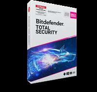 bitdefender Total Security 2020, 3 jaar, volledige versie, Multi Device 10 apparaten