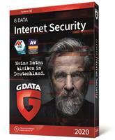 gdata G Data Internet Security Multi Device 2020, 2-3 jaar, volledige versie 5 Apparaten 2 Jaar
