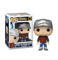 fiftiesstore Pop! Movies Back to the Future Marty in future outfit