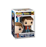 fiftiesstore Pop! Movies Back to the Future Marty in puffy vest