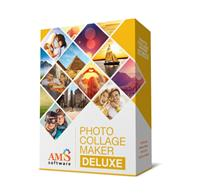 AMS Software Photo Collage Maker Deluxe, English
