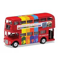 fiftiesstore The Beatles - A Hard Days Night London Bus Die-Cast 1:64 Corgi