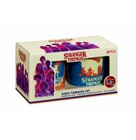 fiftiesstore Stranger Things: Come Again Soon Tumbler Set