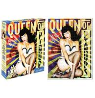 fiftiesstore Bettie Page Queen Of Pinups Puzzle 1000 Pcs